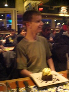 Ian's 16th Birthday dinner at Chili's 007