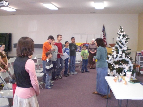 Church Homeschool Group Christmas Party 001