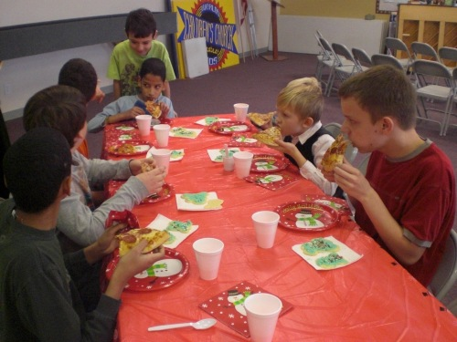 Church Homeschool Group Christmas Party 028