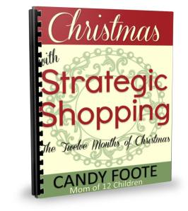 strategic shopping christmas cover