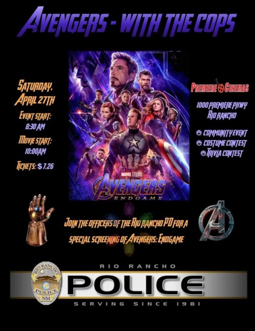 Avengers with the cops 1